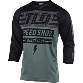 Troy Lee Designs Ruckus 3/4 Jersey Men bolt/fatigue green/black